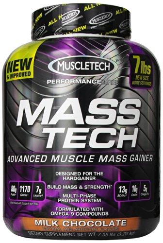 MuscleTech Muscletech Masstech Performance Supplement, Milk Chocolate, 7.05 Pound
