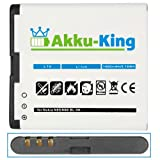 Akku-King Battery for Nokia N85 / N86 / C7-00 / X7-00 / 701 / Oro - replaces BL-5K - Li-Ion 1400mAh