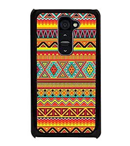Multi Colour Pattern 2D Hard Polycarbonate Designer Back Case Cover for LG G2 :: LG G2 D800 D802 D801 D802TA D803 VS980 LS980