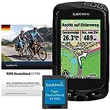 Garmin GPS Fahhrad Computer Edge 810+ Deutschland V7 PRO Bundle microSD, One size, 020-00260-02
