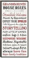 Grandparents' House Rules Mini Print…