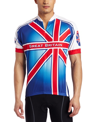 Buy Low Price Canari Cyclewear Men's Great Britain Short Sleeve Cycling  Jersey (12169 M GREAT BRITAIN JERSEY)