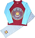 Boys West Ham United Football Club Long Pyjamas Size 5-6 Years