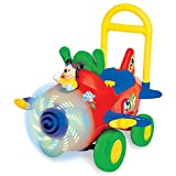 Kiddieland Disney Fly with Mickey Mouse Activity Ride-On Push Plane | 034918