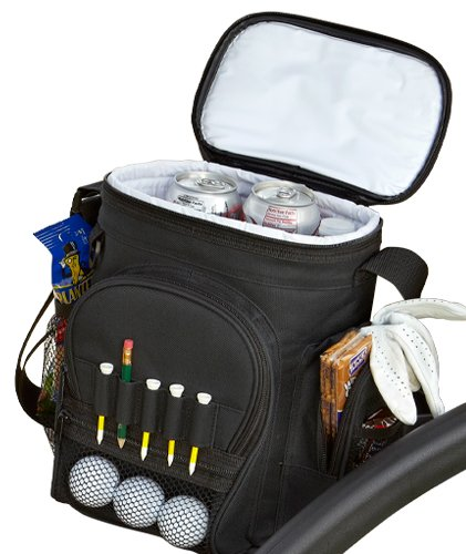 PrideSports-Cooler-Bag-Holds-12-Cans-with-Reusable-Ice-Pack