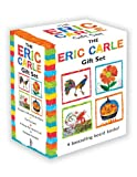The Eric Carle Gift Set: The Tiny Seed; Pancakes, Pancakes!; A House for Hermit Crab; Rooster's Off to See the World (World of Eric Carle) Eric Carle