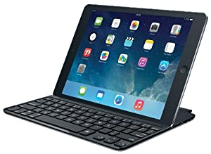 Logitech Ultrathin Keyboard Cover for iPad Air, Space Grey
