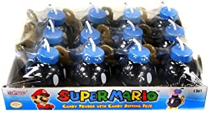 Nintendo Super Mario Brothers Ba-Bomb Candy Powder Display Case Of 12