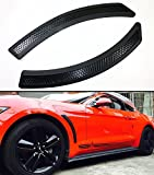 Cuztom Tuning For 2015-2017 Ford Mustang Black Mesh Polyurethane Front Fender Side Vent Cover
