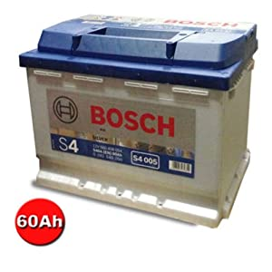 bosch silver batterie de voiture s4 005 60 ah 540 a 12 v. Black Bedroom Furniture Sets. Home Design Ideas