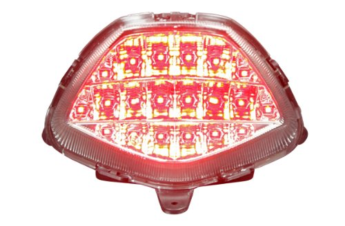 2011-2013 Honda Cbr250R 2015+ Cbr300R Integrated Sequential Led Tail Lights Clear Lens