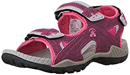 Kamik Lobster Sandal (Toddler/Little Kid/Big Kid), Fuchsia, 13 M US Little Kid