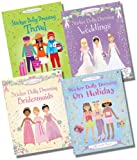Various Usborne Sticker Dolly Dressing Wedding & Travel Collection - 4 Books RRP £23.96 (Sticker Dolly Dressing: Weddings; Sticker Dolly Dressing: Bridesmaids; Sticker Dolly Dressing: Travel; Sticker Dolly Dressing: On Holiday)
