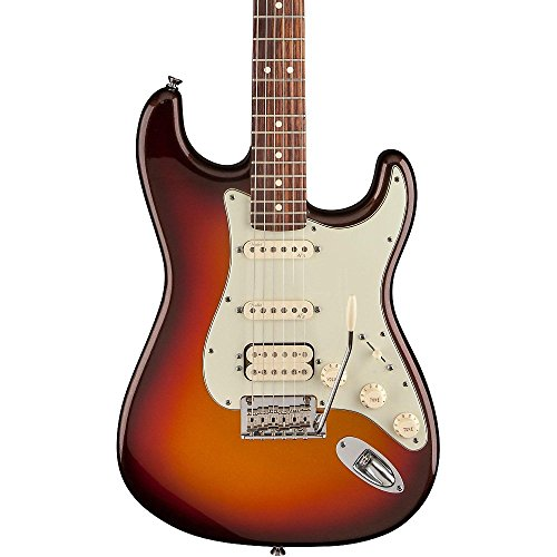 Fender American Deluxe Stratocaster Plus HSS Electric Guitar with Rosewood Fingerboard and Hardshell Case - Mystic 3-Color Sunburst (Fender American Electric Guitar compare prices)