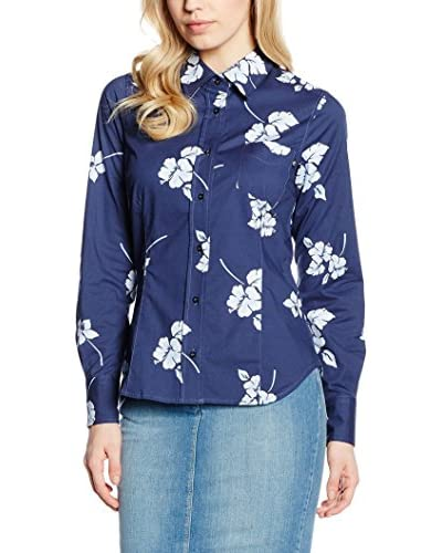 CONTE OF FLORENCE Camisa Mujer Azul Oscuro