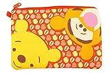 Winnie & Tigger Canvas Pouch Cosmetic Bag Zipper Pouch File Pencil Bag