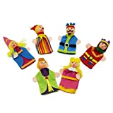 Royal Family Finger Puppets Set Of 6