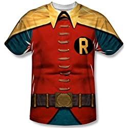 Batman Classic TV Robin Costume T-Shirt