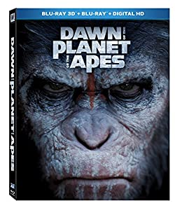 Dawn of the Planet of the Apes [Blu-ray 3D + Blu-ray + Digital HD] by 20th Century Fox