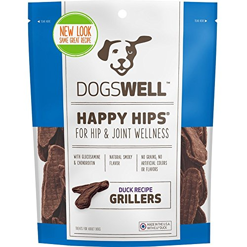 Dogswell Happy Hips Grillers Duck Recipe (4.5 oz) (Dogswell Duck Grillers compare prices)