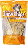 The Rawhide Express Beefhide Chew Chips Peanut Butter Flavored 1 Pound Bag (Great Reward or Treat)