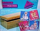 Authentic Lane Hope Chest & Wedding Trousseau - circa 1985 Totsy Mfg. - Fits Barbie, Maxie, Ms. Flair, Sandi + Other 11.5 Dolls - 50 Pce. Gift Set