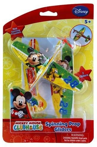 Disney Mickey Mouse 2Pk Prop Gliders by DDI