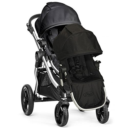 Baby Jogger 2014 City Select Stroller W/ 2013 2Nd Seat, Onyx front-882610