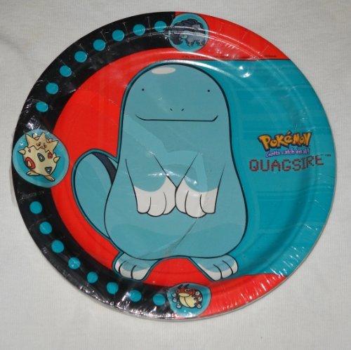 Pokémon Dessert Party Plates (Quagsire) - 8 PK