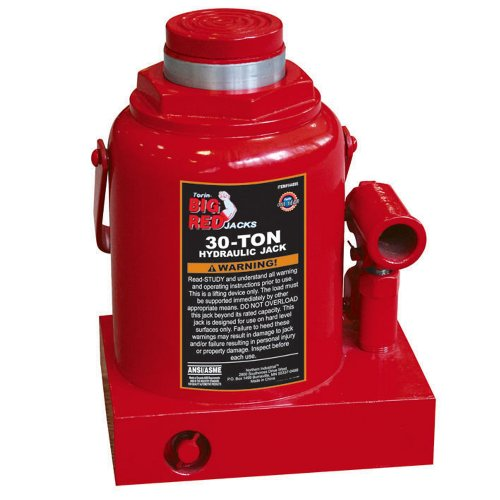 Torin T93007 30 Ton Hydraulic Bottle Jack
