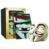 V・フォー・ヴェンデッタ/ コミックブック&Vマスク セット