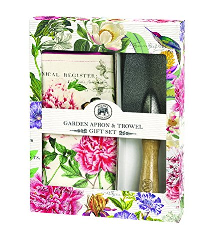 Michel Design Works Garden Apron And Hand Trowel Set Peony