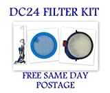 DYSON DC24 WASHABLE PRE & POST MOTOR HEPA FILTER KIT DC24i & ANIMAL VACUUM CLEANER