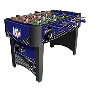 NFL Baltimore Ravens Team Foosball Table by Imperial