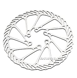 MTB Mountain Bike Bicycle Front Rear 6 Bolts Disc Disk Brake Rotors 160mm Silver