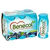 Benecol Cholesterol Lowering Yogurt Drink Blueberry 6 x 67.5g