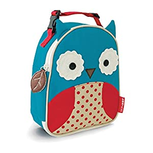 skip hop zoo lunchie insulated lunch bag owl. Black Bedroom Furniture Sets. Home Design Ideas
