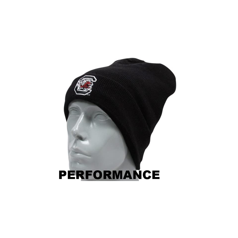 Under Armour South Carolina Gamecocks Black Sideline Performance Beanie