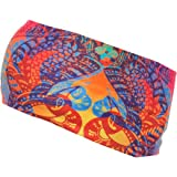 L.L.Bean Mens Buff Uv Half Headband Multi Color One Size