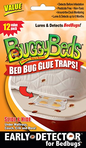 12pk Value BuggyBeds Bed Bug Glue Traps