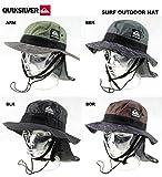 クイックシルバーサーフ、アウトドアハット・SURF OUTDOOR HAT/blkf