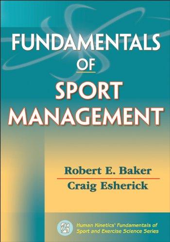 Fundamentals of Sport Management (Human Kinetics'