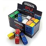 KARAKAL Assorted Colours Universal PU Replacement Grip (Box of 24)