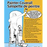 Reusable White Painter Coverall