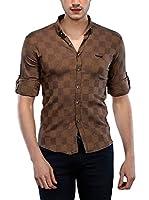 Philip Loren Camisa Hombre (Marrón)