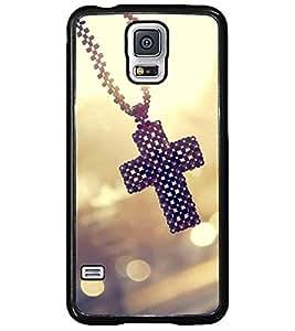 Printvisa Catholic Cross Pendant Back Case Cover for Samsung Galaxy S5 Mini::Samsung Galaxy S5 Mini G800F
