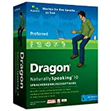 "Dragon NaturallySpeaking 10 Preferred (MiniBox)von ""Nuance Communications,..."""