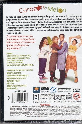 Corazon de melon ludwica paleta daniel martinez ntsc for American cuisine dvd
