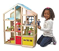 Hot Sale Melissa & Doug Hi-Rise Dollhouse and Furniture Set