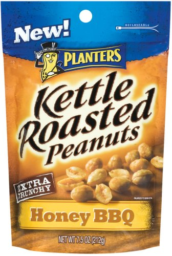 Buy Planters Kettle Roasted Honey Barbeque, 7.5-Ounce Units (Pack of 12) (Planters, Health & Personal Care, Products, Food & Snacks, Baking Supplies, Nuts & Seeds)